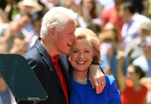 USA elections Hillary and Bill Clinton